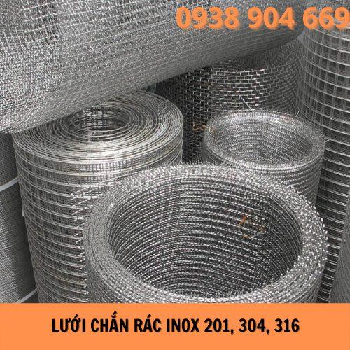 Lưới chắn rác inox 201, 304, 316