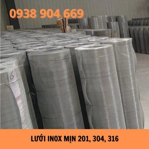 Lưới inox mịn 201, 304, 316
